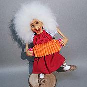 Куклы и пупсы ручной работы. Ярмарка Мастеров - ручная работа Бабка Ёжка5 (из мф Летучий корабль). Handmade.