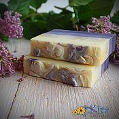 Косметика ручной работы. Ярмарка Мастеров - ручная работа Ветка сирени, натуральное мыло. Handmade.