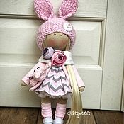 Куклы и игрушки ручной работы. Ярмарка Мастеров - ручная работа Зая с зайцем. Handmade.