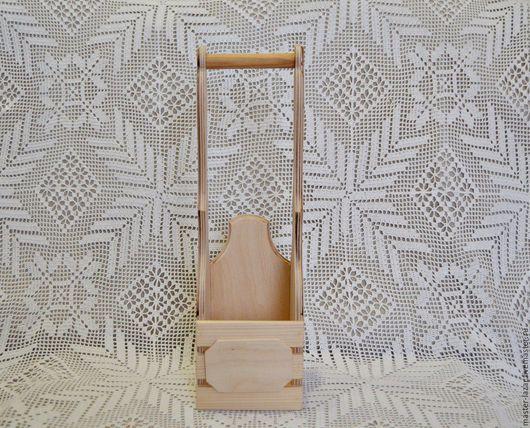 Короб с реечным фасадом и накладным элементом