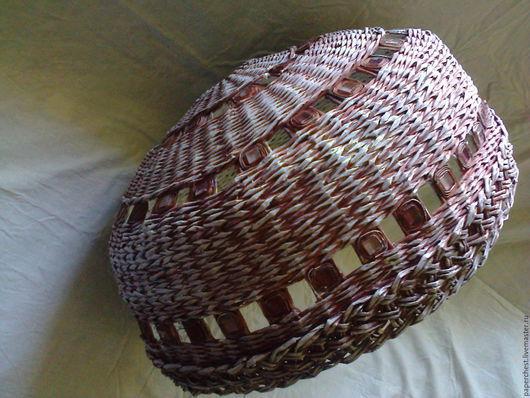 Освещение ручной работы. Ярмарка Мастеров - ручная работа. Купить плетеный абажур большого размера в стиль Прованс. Handmade. Большой размер