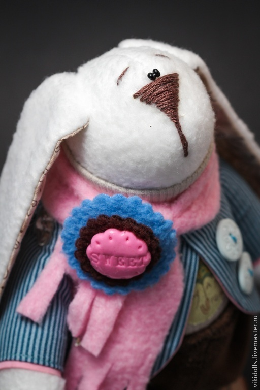 Игрушки животные, ручной работы. Ярмарка Мастеров - ручная работа. Купить Тильда-заяц Денди. Handmade. Подарок ребенку