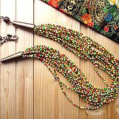 Украшения handmade. Livemaster - original item Beads in hippie style. Handmade.