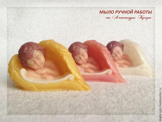 """Мыло ручной работы. Ярмарка Мастеров - ручная работа. Купить """"Ангел в крыльях"""" мыло ручной работы. Handmade. Разноцветный, малыш"""