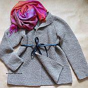 Одежда ручной работы. Ярмарка Мастеров - ручная работа Вязаный кардиган крупной вязки. Handmade.