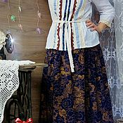 Одежда handmade. Livemaster - original item Skirt and blouse in the style boho.