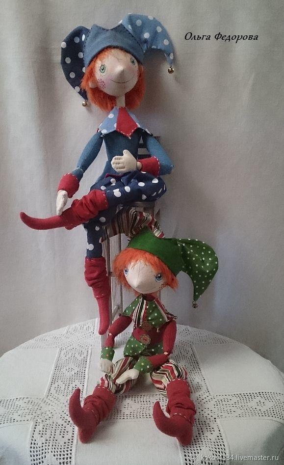 Петрушки . Куклы текстильные, Куклы, Москва, Фото №1