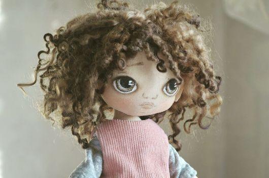 Куклы тыквоголовки ручной работы. Ярмарка Мастеров - ручная работа. Купить Текстильная  кукла. Handmade. Кукла ручной работы, doll