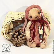 Куклы и игрушки handmade. Livemaster - original item bear-Bunny Alenka. Handmade.
