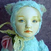 Куклы и игрушки ручной работы. Ярмарка Мастеров - ручная работа Тедди долл Лия. Handmade.