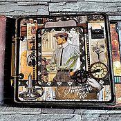 Канцелярские товары handmade. Livemaster - original item Photo album for men Retro. Handmade.