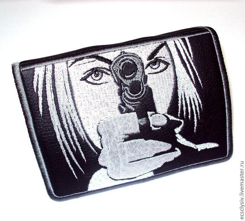 """Обложка для паспорта """"Стой,детка,я буду стрелять!"""", Обложки, Рязань, Фото №1"""