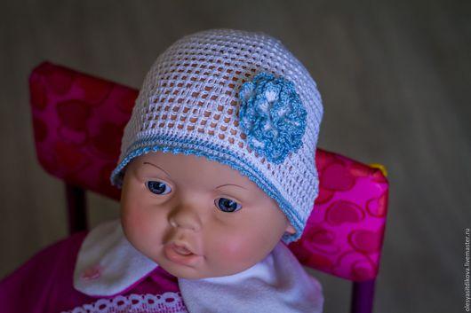 Летняя шапочка для девочки `Очарование`