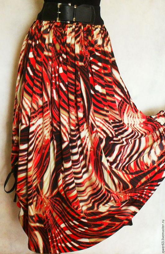 яркая,теплая юбка,юбка длинная,юбка-бохо,бохо-стиль,длинная юбка,юбка двухслойная,юбка в пол,юбка из трикотажа,красивая юбка,модная юбка,праздничная юбка,подарок,новогодний подарок,купить юбку