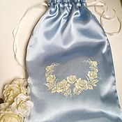 """Одежда ручной работы. Ярмарка Мастеров - ручная работа Атласный мешочек для белья """" Нежнность"""". Handmade."""