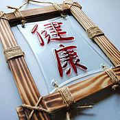 Для дома и интерьера handmade. Livemaster - original item Panel wall, glass fusing