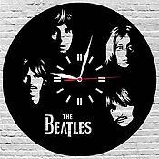 Для дома и интерьера ручной работы. Ярмарка Мастеров - ручная работа Часы настенные из акрилового стекла Beatles. Handmade.