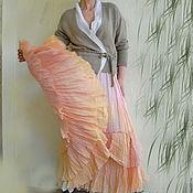 Одежда ручной работы. Ярмарка Мастеров - ручная работа Длинная юбка с оборками. Handmade.