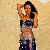 """Одежда ручной работы. Ярмарка Мастеров - ручная работа Арабский костюм """"Синяя готика"""". Handmade."""
