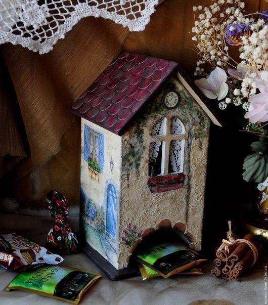 """Кухня ручной работы. Ярмарка Мастеров - ручная работа. Купить Чайный домик """"  Прованский дворик"""". Handmade. Бежевый"""