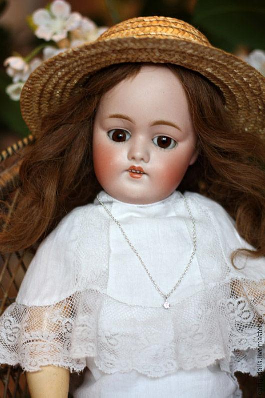 Винтажные куклы и игрушки. Ярмарка Мастеров - ручная работа. Купить Антикварная кукла фабрики Kestner Кестнер. Handmade. Белый