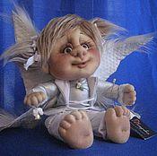 Куклы и игрушки ручной работы. Ярмарка Мастеров - ручная работа Ангелочек Радостный Вестник. Handmade.