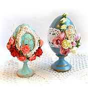 Подарки к праздникам handmade. Livemaster - original item Easter egg decorative. Handmade.