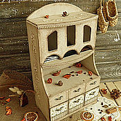 Для дома и интерьера ручной работы. Ярмарка Мастеров - ручная работа Большой чайный комод. Handmade.