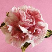 """Украшения ручной работы. Ярмарка Мастеров - ручная работа Брошь цветок """"Роза""""валяние шерсть. Handmade."""