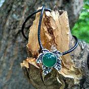Pendants handmade. Livemaster - original item Maple leaves onyx pendant. Handmade.