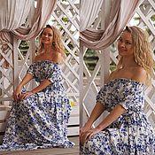 Одежда ручной работы. Ярмарка Мастеров - ручная работа Платье Голубка. Handmade.