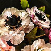 Для дома и интерьера handmade. Livemaster - original item Bouquet-night light of Anemones