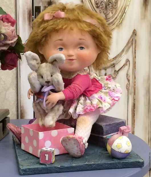 """Коллекционные куклы ручной работы. Ярмарка Мастеров - ручная работа. Купить Авторская кукла """"День рождения"""". Handmade. Авторская кукла"""