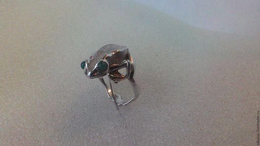 Кольца ручной работы. Ярмарка Мастеров - ручная работа. Купить кольцо-амулет Лягушка. Handmade. Серебряный, символ долголетия