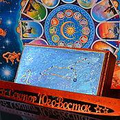 handmade. Livemaster - original item zodiac sign Leo. Box for attracting money. Handmade.
