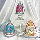 Новогодний колокольчик на ёлку,ёлочное украшение,новогодний сувенир,подарок на новый год.
