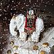 Броши ручной работы. Брошь-кулон  Самый добрый белый слон))). Elena Abradi. Интернет-магазин Ярмарка Мастеров. Кулон