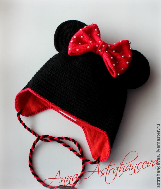 Вязаная шапка минимауса