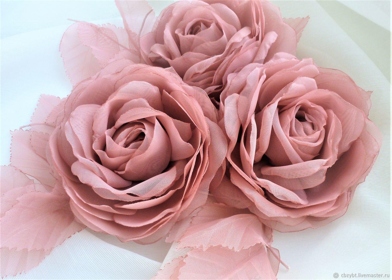 Set of brooches ' Ash roses', Brooch set, Yurga,  Фото №1