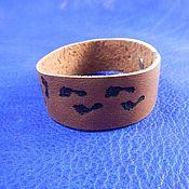 Украшения handmade. Livemaster - original item A leather bracelet engraved with the Family. Handmade.