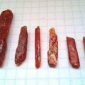 Материалы для творчества handmade. Livemaster - original item Orange kyanite( Tanzania). Handmade.
