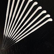 Материалы для творчества ручной работы. Ярмарка Мастеров - ручная работа иголки для микро рутинга 42 (10 шт). Handmade.