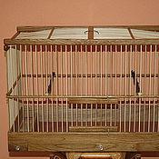 Клетка для птиц ручная работа