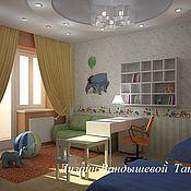 Дизайн и реклама ручной работы. Ярмарка Мастеров - ручная работа Дизайн детской комнаты. Handmade.