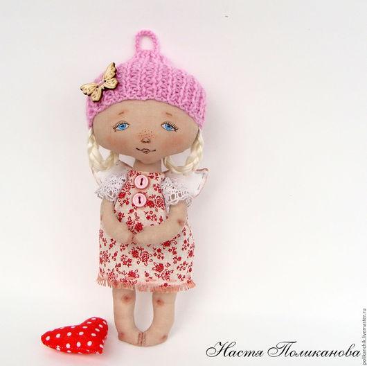 Коллекционные куклы ручной работы. Ярмарка Мастеров - ручная работа. Купить Ангел Поликаночка. Handmade. Текстильная кукла, ангел