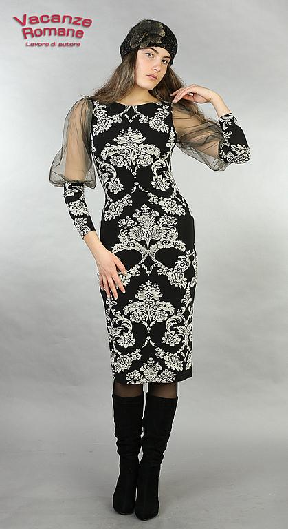 Платья ручной работы. Ярмарка Мастеров - ручная работа. Купить Vacanze Romane-945. Handmade. Авторское платье, дизайнерская одежда