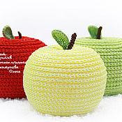 """Сувениры и подарки ручной работы. Ярмарка Мастеров - ручная работа """"Молодильное яблочко"""" - игрушка-антистресс. Handmade."""