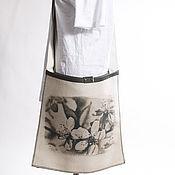 Сумки и аксессуары ручной работы. Ярмарка Мастеров - ручная работа сумка минималистичная большая с принтом. Handmade.