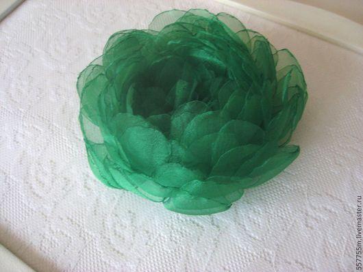 """Броши ручной работы. Ярмарка Мастеров - ручная работа. Купить Брошь """"Яркий изумруд"""". Handmade. Зеленый, брошка, подарок маме"""