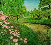 Картины и панно ручной работы. Ярмарка Мастеров - ручная работа Мгновение весны. Пастель. Handmade.
